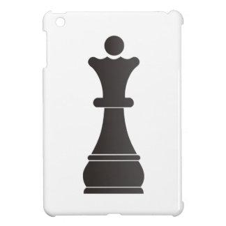 Black queen chess piece iPad mini cover