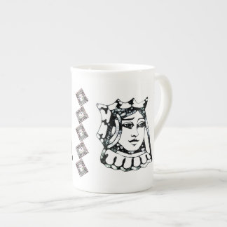 Black Queen Tea Cup