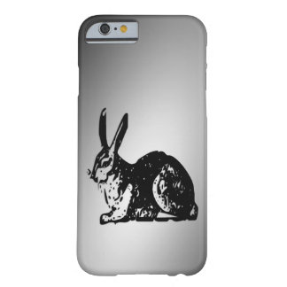 Black Rabbit Barely There iPhone 6 Case