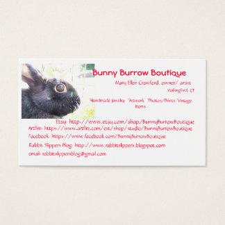 Black Rabbit Photo Business Card