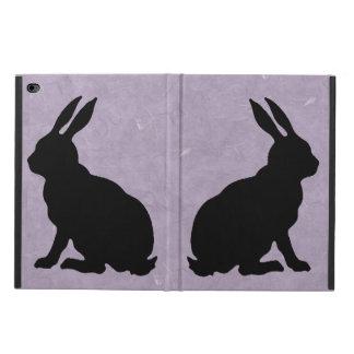 Black Rabbit Silhouette Easter Bunny Powis iPad Air 2 Case