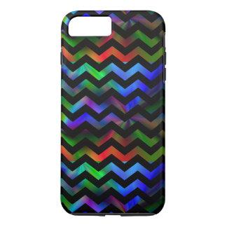 Black Rainbow Chevron iPhone 7 Plus Case