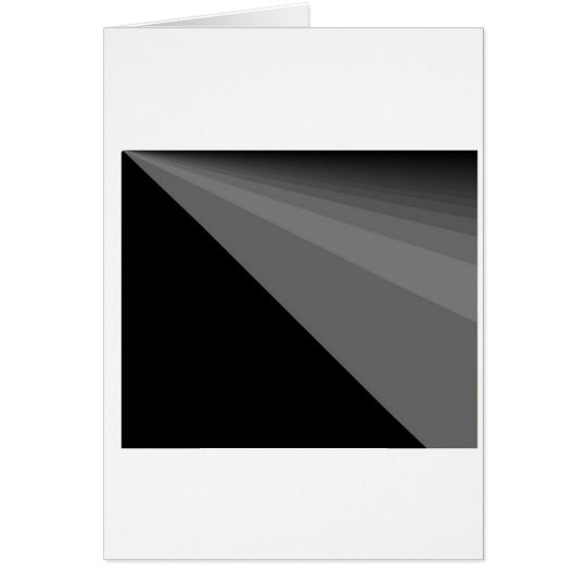 Black Rainbow Greeting Card