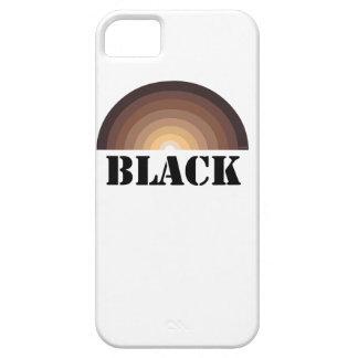 BLACK RAINBOW iPhone 5 case