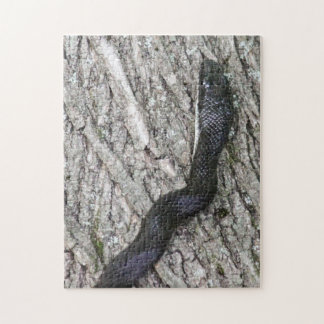 Black Rat Snake Jigsaw Puzzle