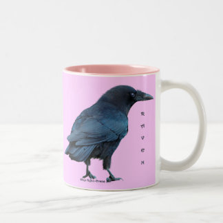 Black Raven Birdlovers Collection III Two-Tone Coffee Mug