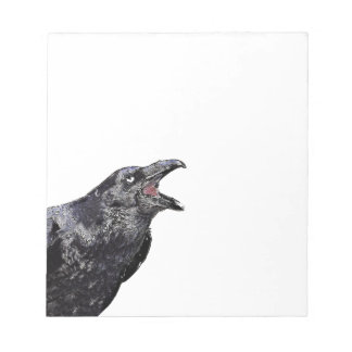 Black Raven Calling Notepad