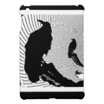Black Raven Classic Design by Sharles Cover For The iPad Mini