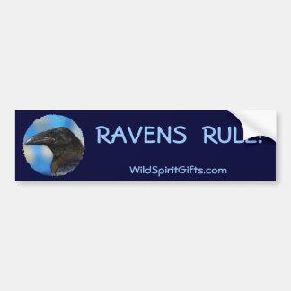 BLACK RAVEN Collection Car Bumper Sticker