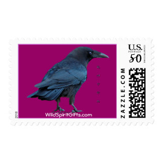 Black Raven Collection III Wildlife Postage Stamps