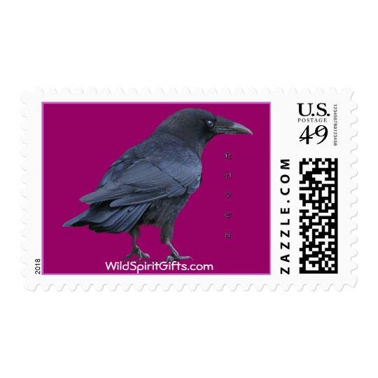 Black Raven Collection III Wildlife Postage Stamps