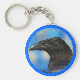 BLACK RAVEN Collection Keychain