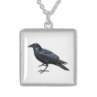 Black Raven Neckwear Sterling Silver Necklace