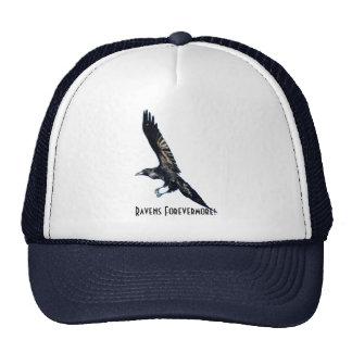 Black Raven Series Trucker Hat