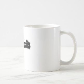 Black Raygun Coffee Mug
