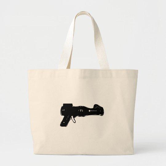 Black Raygun Large Tote Bag