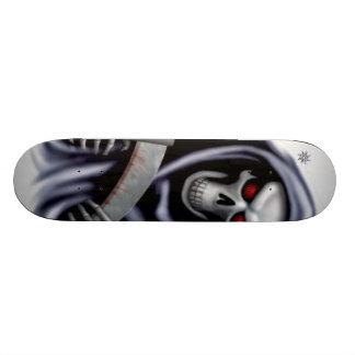 Black reaper skateboard