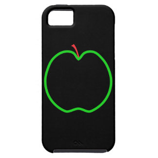 Black, Red and Green Apple Design. iPhone SE/5/5s Case