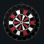 """Black Red and White Dart Board<br><div class=""""desc"""">Black Red and White Dart Board.    Striped Hope™ is your online store for a variety unique designs and gifts.</div>"""