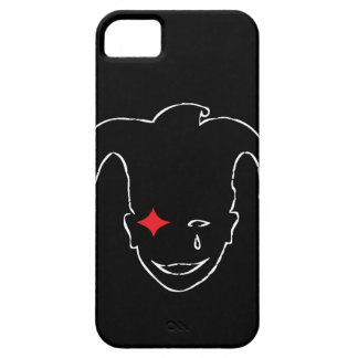 Black, Red, And  White MTJ iPhone SE/5/5s Case