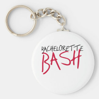 Black/Red Bachelorette Bash Keychain