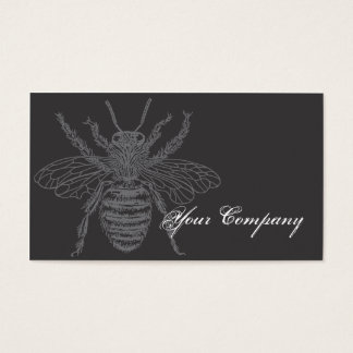 Black & Red Bees Bizcard Business Card