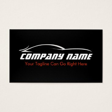 Aztec Themed Black, Red, Car, Auto, Carbon Fiber  Business Card