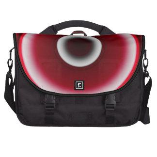 Black & Red Circles Commuter Bag