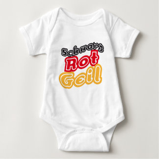 Black-red-cool WM-shirts and more Baby Bodysuit