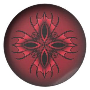 Gothic Style Plates   Zazzle