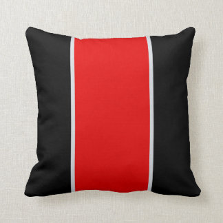 Black Gray Red PillowsDecorativeThrow PillowsZazzle