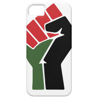 Black Red Green Fist iPhone SE/5/5s Case