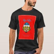 Black/Red Modern Style Ago Vita (T-Shirt) T-Shirt