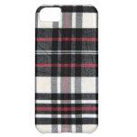 black red plaid case for iPhone 5C