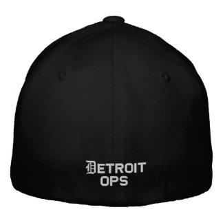 Black Refinery Life Flexfit Cap (Detroit ops) Embroidered Hat