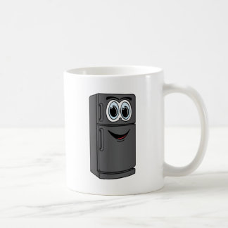 Black Refrigerator Cartoon Coffee Mug
