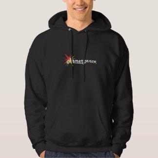 Black Remergence Logo Hoodie