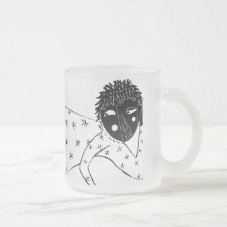 Black Renaissance Frosted Mug