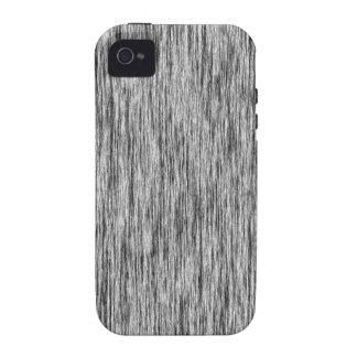 Black-Render-Fibers-Pattern Case-Mate iPhone 4 Cover