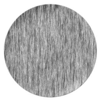 Black-Render-Fibers-Pattern Dinner Plate