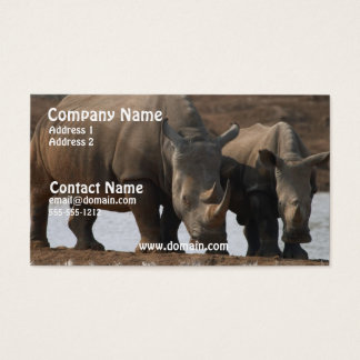 Black Rhino Business Card