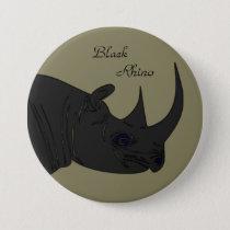 Black Rhino Button