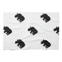 Black Rhino Kitchen Towel