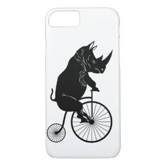 Black Rhino on Vintage Bike iPhone 8/7 Case