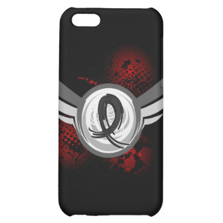 Black Ribbon And Wings Skin Cancer iPhone 5C Cover