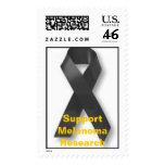 black_ribbon, investigación del melanoma de la ayu