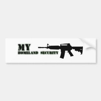 Black Rifle AR-15 from Phil's Art Online Bumper Sticker