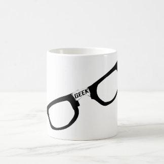 Black Rimmed Geek Glasses Coffee Mug