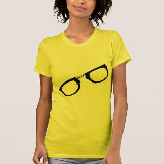 Black Rimmed Geek Glasses T-Shirt