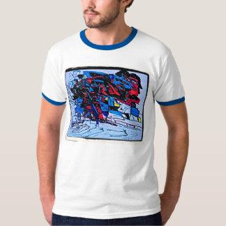Black Ripples T-shirt